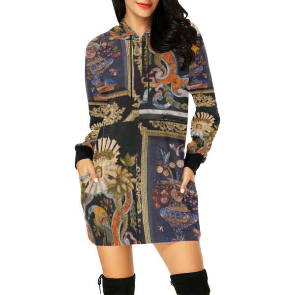 Hoodie Mini Dress
