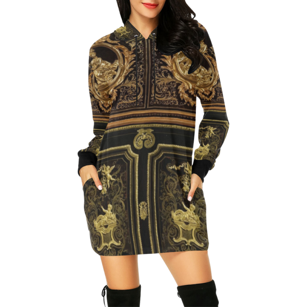 Hoodie Mini Dress | Fashion Outfit|